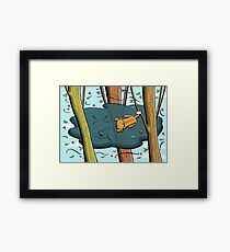 Possum - Blown Away in Love Framed Print
