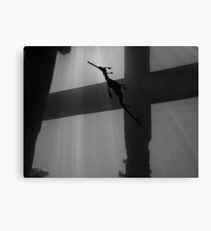 Cross to Bare Canvas Print
