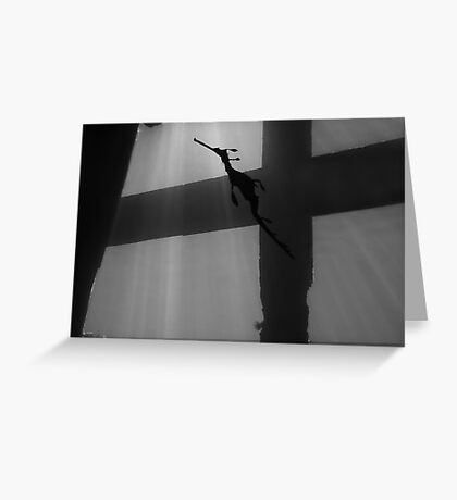 Cross to Bare Greeting Card
