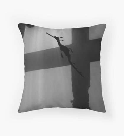 Cross to Bare Throw Pillow