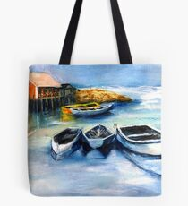 Peggy's Cove Frozen In, Chance of Snow  Tote Bag