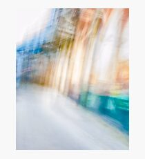 Ghostly colorful Architectures Photographic Print