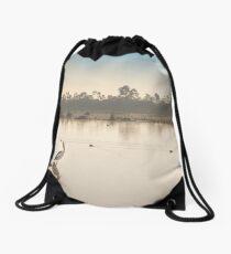A Quiet Rest Drawstring Bag