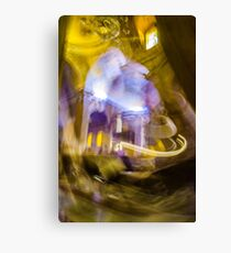 Moving in the Cathedral Canvas Print