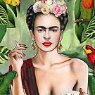 Frida con amigos von Nettsch