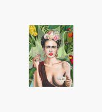 Frida con amigos Art Board