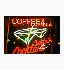 Coffee & Cocktails Photographic Print