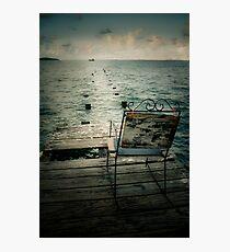 Waiting Photographic Print