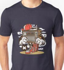 Vintage Radio Cartoon Character Unisex T-Shirt