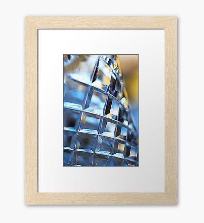 Crystal Vase   Framed Print