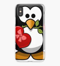 Valentine Penguine iPhone Case