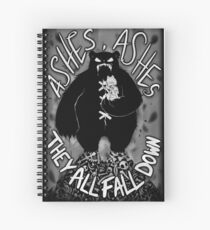 Ashes, Ashes Spiral Notebook