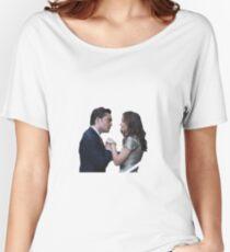 Chuck & Blair  Women's Relaxed Fit T-Shirt