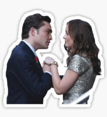 Chuck & Blair  Sticker