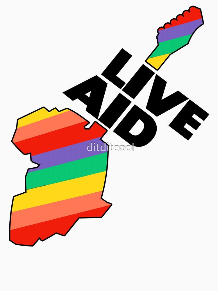 Live Aid Pflaster Hilfe Symbol von ditditcool