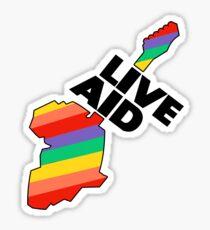 Live Aid Band Aid 1985 Symbol Sticker