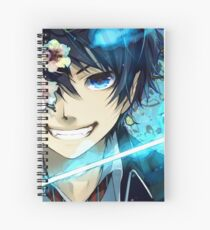 AO NO EXORCIST - BLUE BLUE BLUE FIRE! Spiral Notebook
