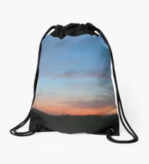 Sunset Colorful Image Drawstring Bag