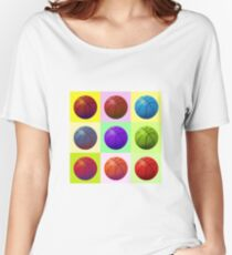Pop Art Basketball Women's Relaxed Fit T-Shirt