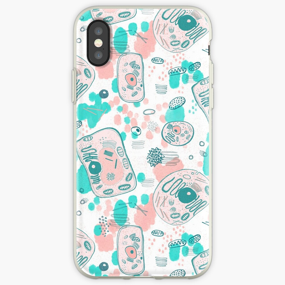 plant vs animal cells iPhone Case & Cover