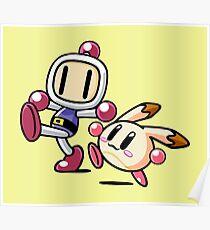 Bomberman Pommy Poster