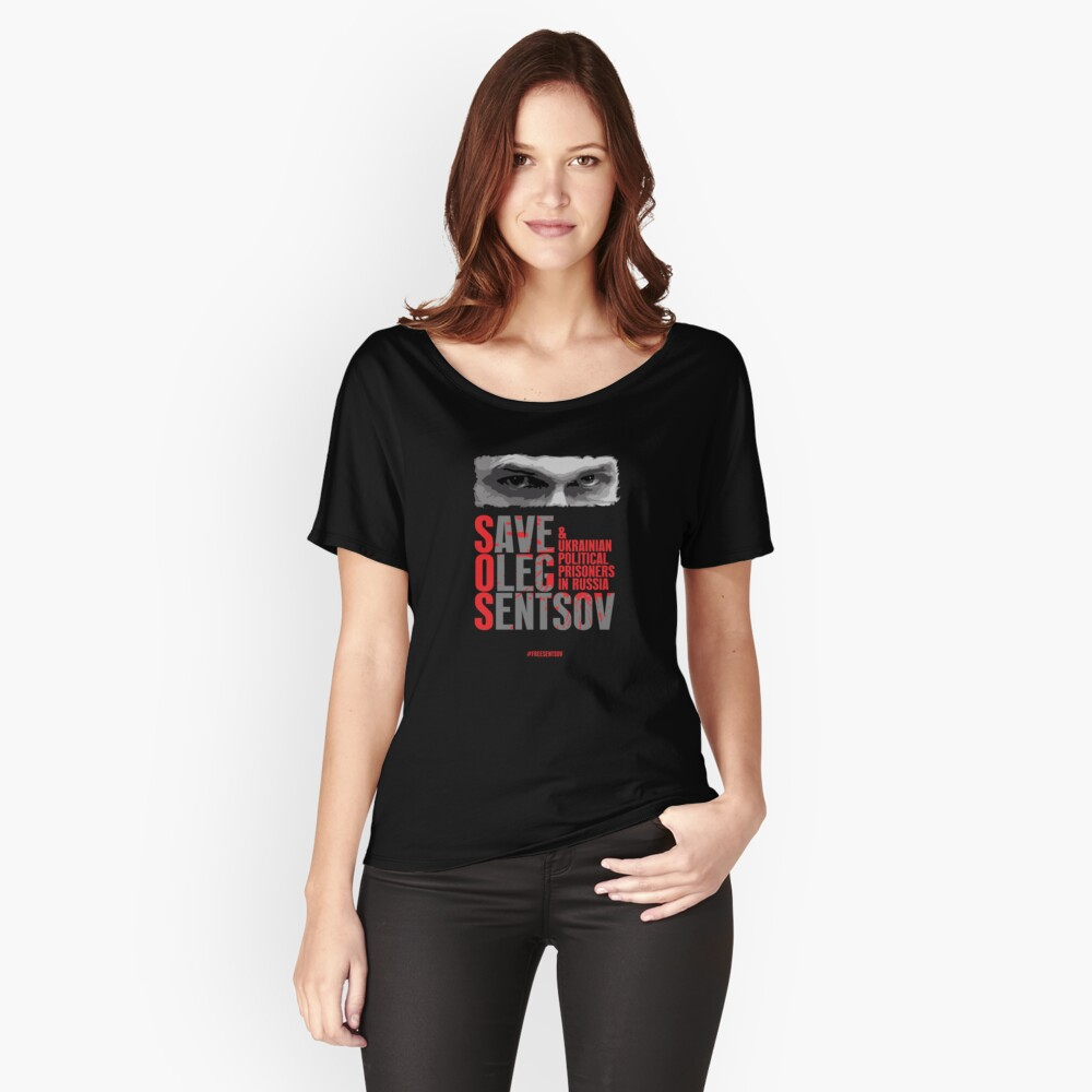 Free Sentsov Women's Relaxed Fit T-Shirt Front