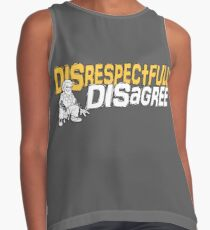 Disrespectfully Disagree Contrast Tank