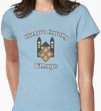 Cotton Candy Village Women's Fitted T-Shirt