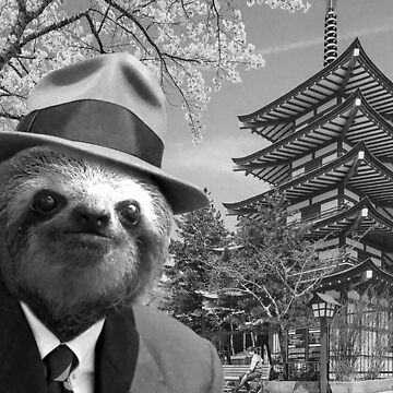 Sloth in Japan by luigitarini