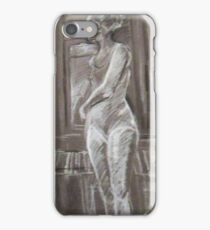 GRAY FIGURE STUDY iPhone Case/Skin