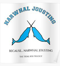 Narwhal Jousting Poster