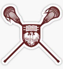 University of Chicago Lacrosse Sticker
