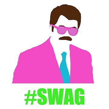 Swagga Ron Swanson by againnagain