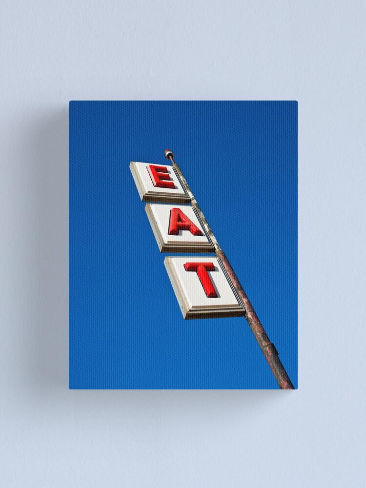 Alternate view of USA New Mexico. Route 66. San Jon. (Alan Copson ©) Canvas Print