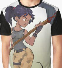 Fortnite fan art woman Graphic T-Shirt