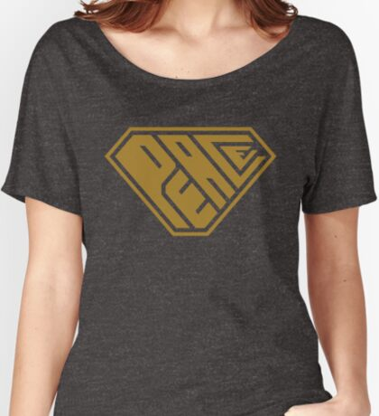 Peace SuperEmpowered (Gold) Relaxed Fit T-Shirt