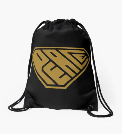 Peace SuperEmpowered (Gold) Drawstring Bag
