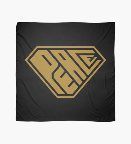 Peace SuperEmpowered (Gold) Scarf