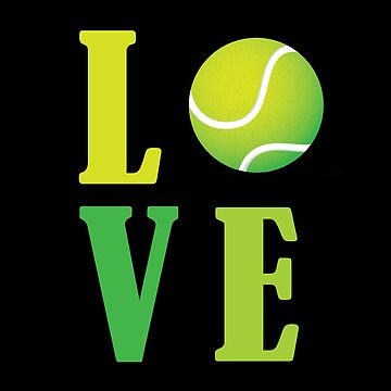 Tennis Design - Love  by kudostees