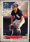 406 - Clemente Alvarez by Foob's Baseball Cards