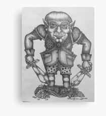 Halfling Thief Metal Print