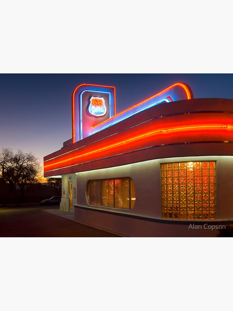 USA. New Mexico. Albuquerque. Route 66 Diner. (Alan Copson ©) by AlanCopson