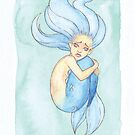 MerMay 2018: May 28th - Lonely Mermaid by dreampigment