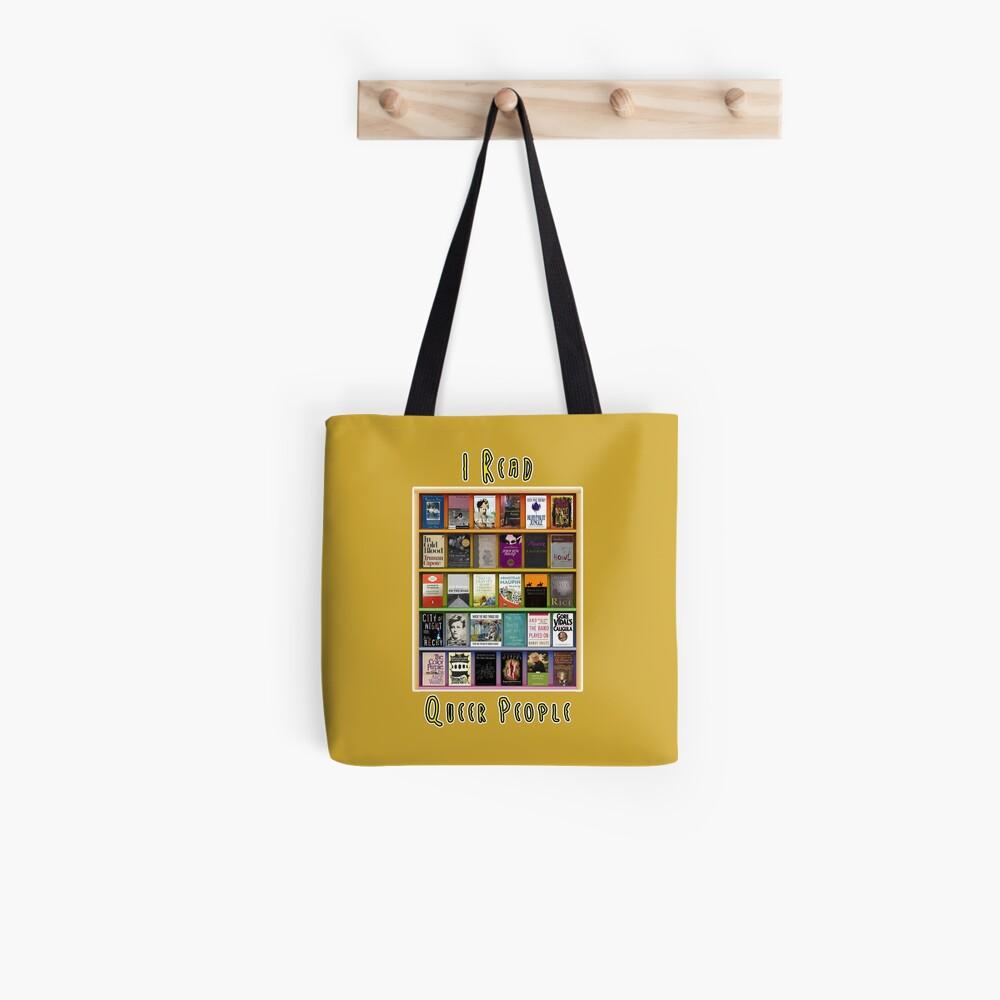 I Read Queer People Tote Bag