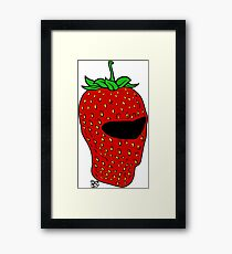 Mr. Strawberry Framed Print
