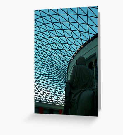 British Museum Great Court 1 Greeting Card