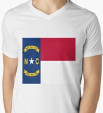 North Carolina Men's V-Neck T-Shirt