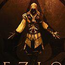 Ezio (Vintage Sepia) von scardesign11