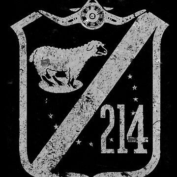 "VMF-214 ""Black Sheep Squadron"" WWII Vintage Design by RealPilotDesign"