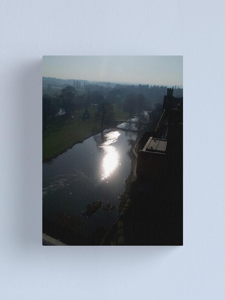 Alternate view of Warwick Castle 3 Canvas Print